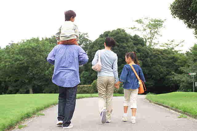 家族と健康 人生の最大の宝のために